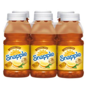 Snapple - Lemon 8oz Plastic Bottle Case