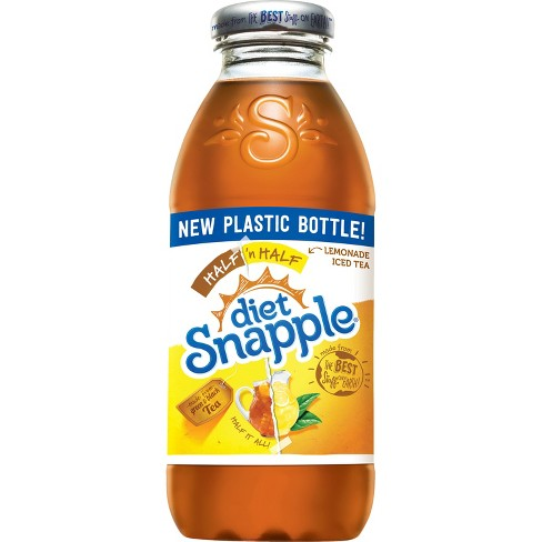 Snapple - Diet Half & Half 16oz Plastic Bottle Case