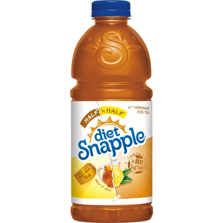 Snapple - Diet Half & Half 32oz Plastic Bottle Case