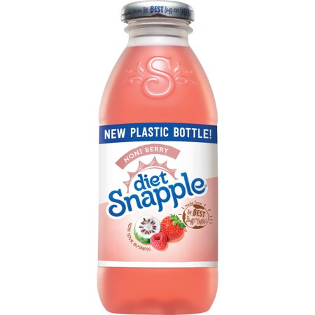 Snapple - Diet Noni Berry 16oz Plastic Bottle Case