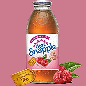 Snapple - Diet Raspberry Tea 16oz Plastic Bottle Case