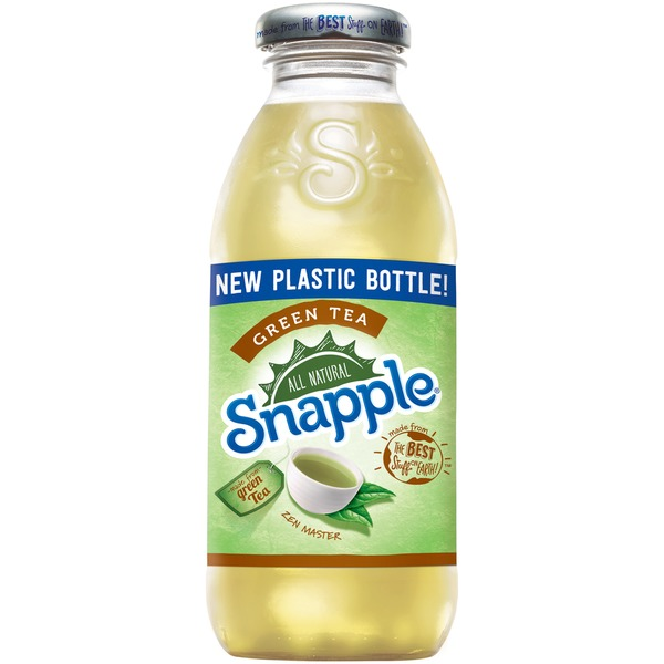 Snapple - Green Tea 16oz Plastic Bottle Case
