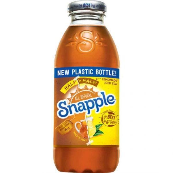 Snapple - Half & Half 16oz Plastic Bottle Case