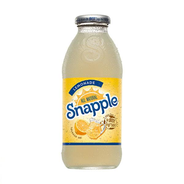 Snapple - Lemonade 16oz Plastic Bottle Case