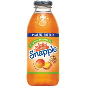 Snapple - Mango Madness 16oz Plastic Bottle Case