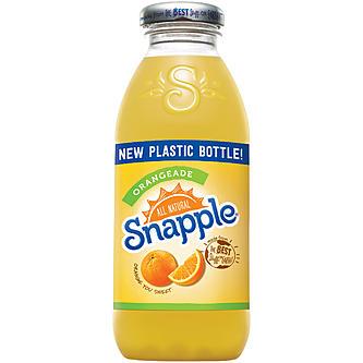 Snapple - Orangeade 16oz Plastic Bottle Case