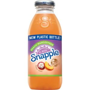 Snapple - Peach Mangosteen 16oz Plastic Bottle Case