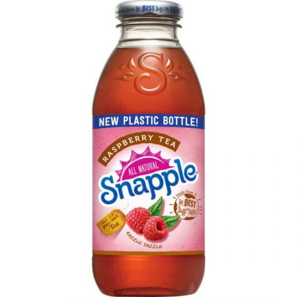 Snapple - Raspberry Tea 16oz Plastic Bottle Case