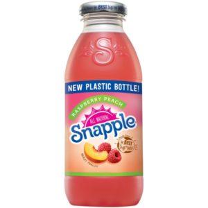 Snapple - Raspberry Peach 16oz Plastic Bottle Case