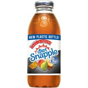 Snapple - Diet Trop-A-Rocka Tea 16oz Plastic Bottle Case