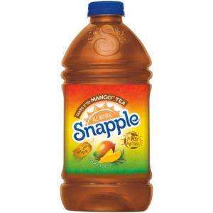 Snapple - Takes 2 To Mango Tea 64oz Plastic Bottle Case
