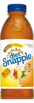 Snapple - Diet Snapple Half & Half 20oz Bottle Case