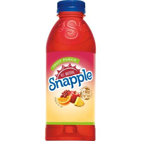 Snapple - Fruit Punch 20oz Plastic Bottle Case