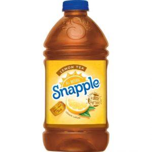 Snapple - Lemon Tea 64oz Plastic Bottle Case