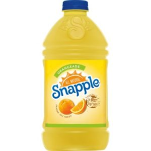 Snapple - Orangeade 64oz Plastic Bottle Case