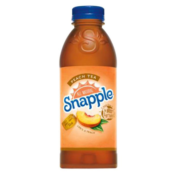 Snapple - Peach Tea 20oz Plastic Bottle Case