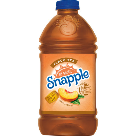 Snapple - Peach Tea 64oz Plastic Bottle Case
