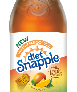 Snapple - Diet Mango Tea 16oz Plastic Bottle Case