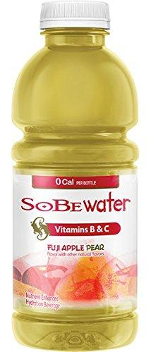 Sobe Water - Fuji Apple Pear 20oz Bottle Case - 12 Pack