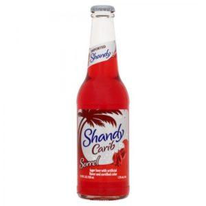 Carib - Sorrel Shandy 330ml (11.2oz) Bottle 24pk Case