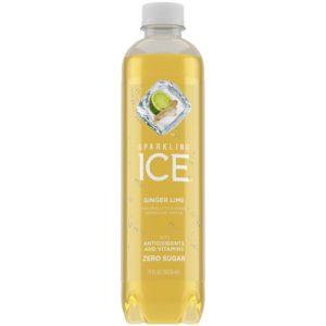 Sparkling Ice - Ginger Lime 17oz Bottle Case - 12 Pack