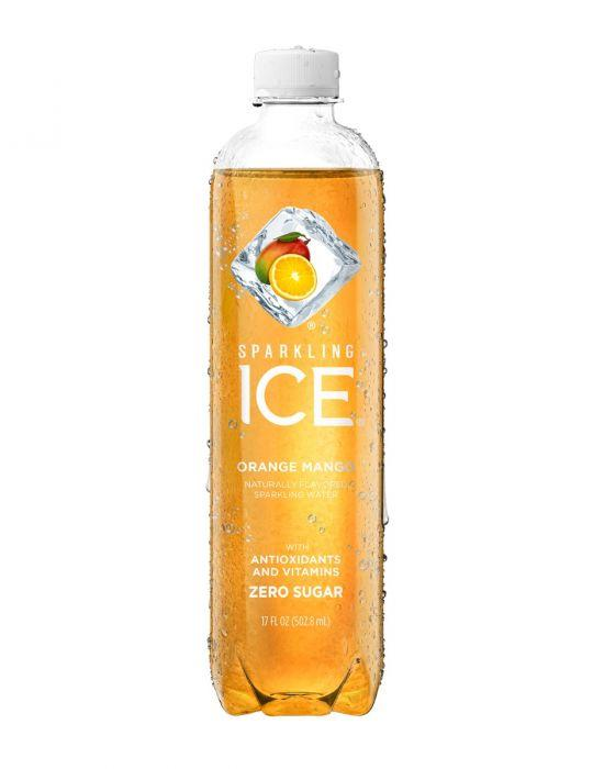 Sparkling Ice - Orange Mango 17oz Bottle Case - 12 Pack