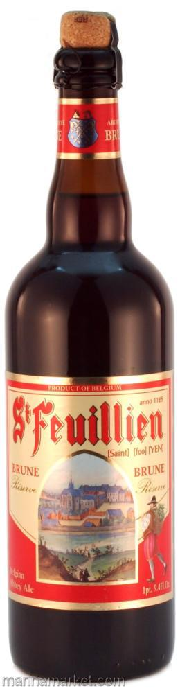 St. Feuillien - Brown 750ml (25.3oz) Bottle 24pk Case