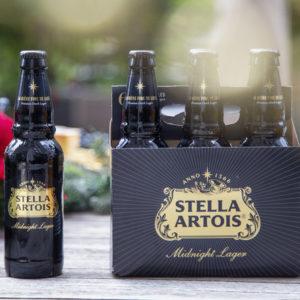 Stella Artois - Midnight Dark Lager 12oz Bottle 24pk Case