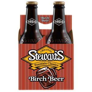 Stewart's - Birch Beer 12oz Bottle Case