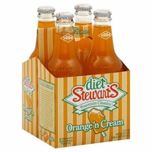 Stewart's - Diet Orange 12 oz Bottle 24pk Case