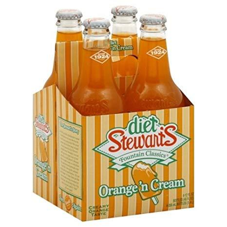 Stewart's - Diet Orange 12 oz Bottle 24pk Case