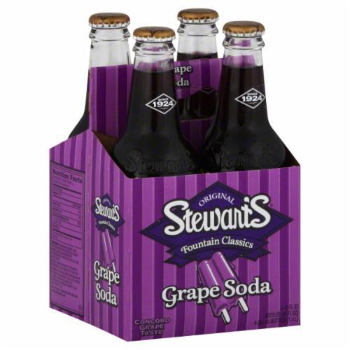 Stewart's - Grape 12oz Bottle Case