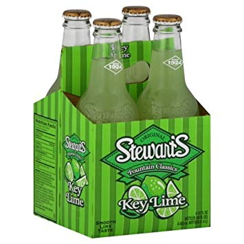 Stewart's - Key Lime 12oz Bottle Case