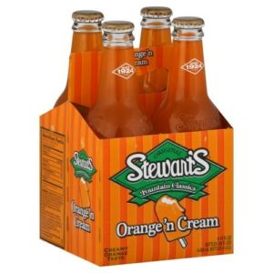 Stewart's - Orange-Cream 12oz Bottle Case