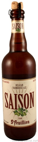 St. Feuillien - Saison 750ml (25.3oz) Bottle 24pk Case