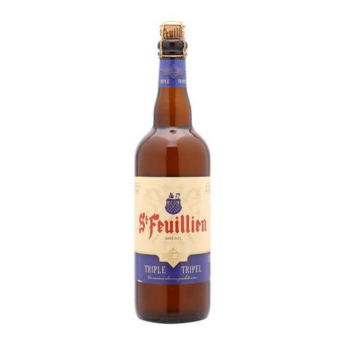 St. Feuillien - Tripel 750ml (25.3oz) Bottle 24pk Case