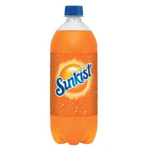 Sunkist - 1 Liter (33.8oz) Bottle Case