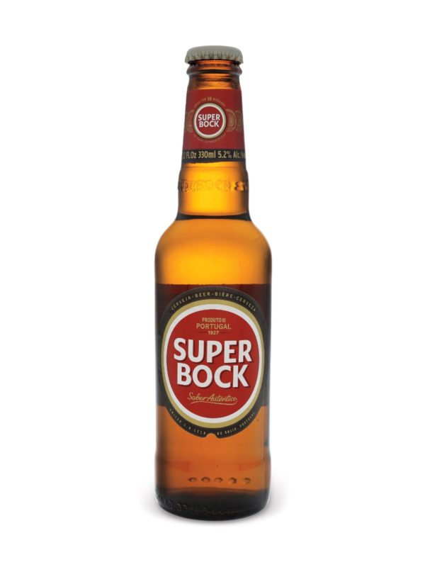 Super Bock (Portugal) - Super Bock 330ml (11.2oz) Bottle 24pk Case