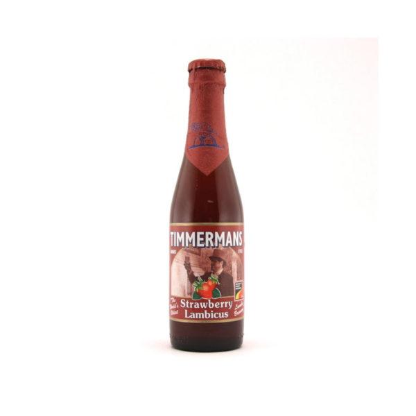 Timmermans - Strawberry Lambic 330ml (11.2oz) Bottle 24pk Case