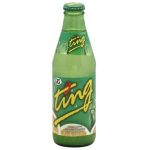 Ting - Grapefruit Soda 9.6oz Bottle Case