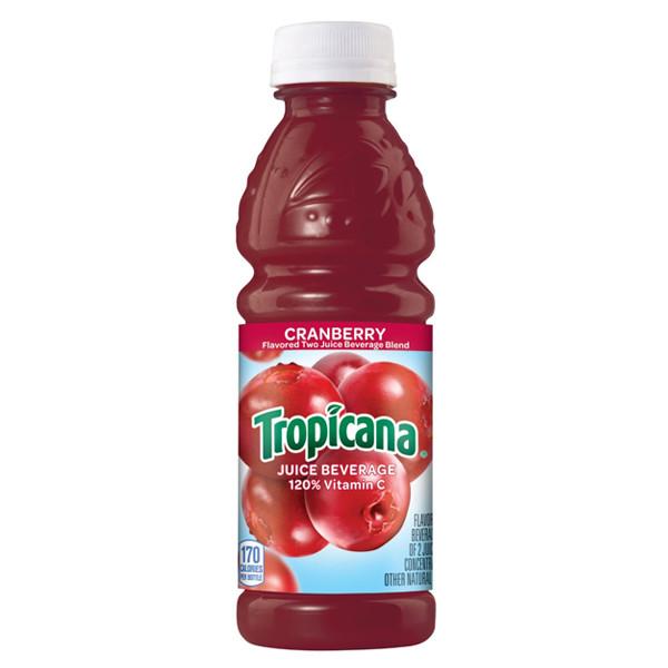 Tropicana - Cranberry Juice 10oz Plastic Bottle Case