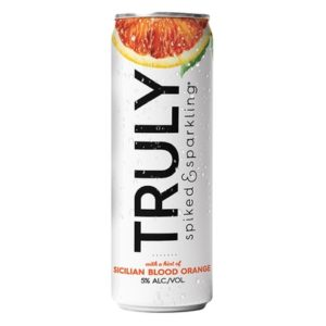 Truly - Spiked & Sparkling Water Sicilian Blood Orange 12oz Can Case
