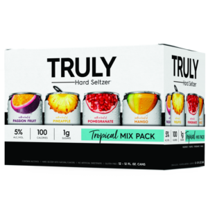Truly - Spiked & Sparkling Water Tropical Mix 12oz Can Case
