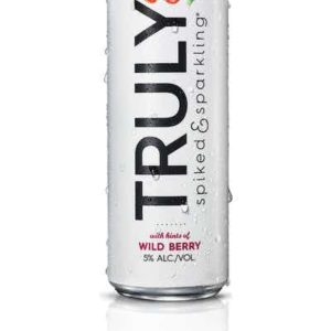 Truly - Spiked & Sparkling Water Wild Berry 12oz Can Case