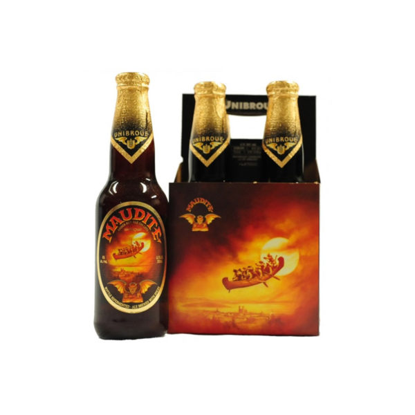 Unibroue - Maudite 330ml (11.2oz) Bottle 24pk Case