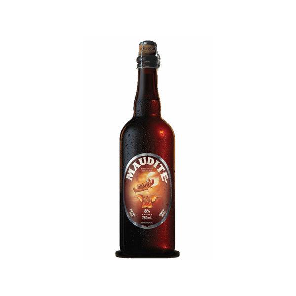Unibroue - Maudite 750ml (25.3oz) Bottle 24pk Case