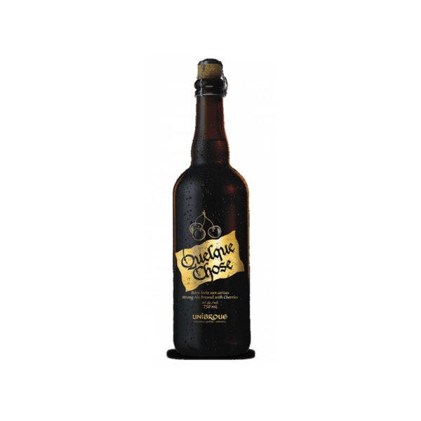 Unibroue - Quelque Chose 750ml (25.3oz) Bottle 24pk Case