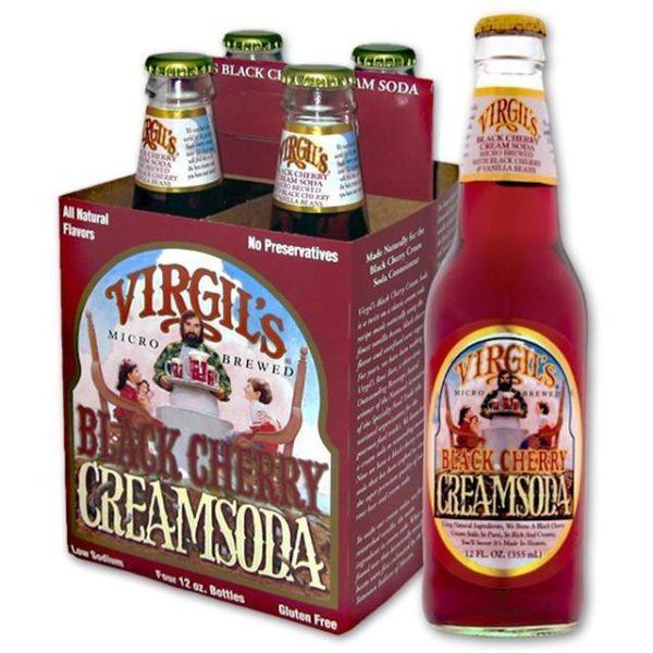 Virgil's - Black Cherry 12oz Bottle Case