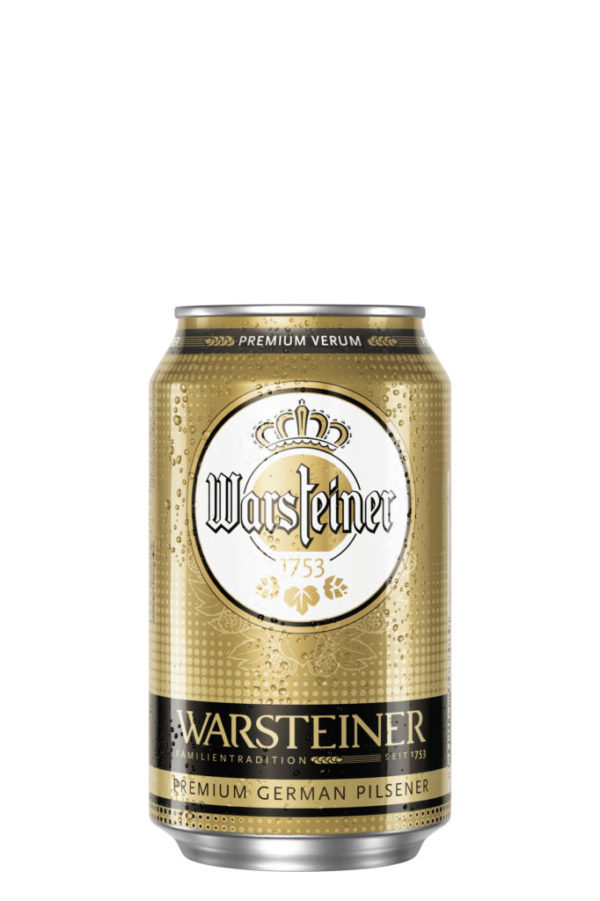 Warsteiner - Pilsner 11.2oz (330ml) Can 24pk Case