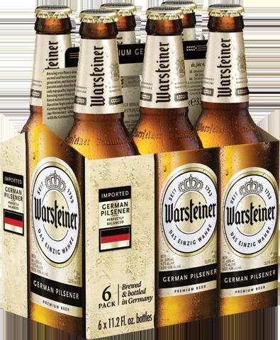 Warsteiner - Pilsner 330ml (11.2oz) Bottle 24pk Case